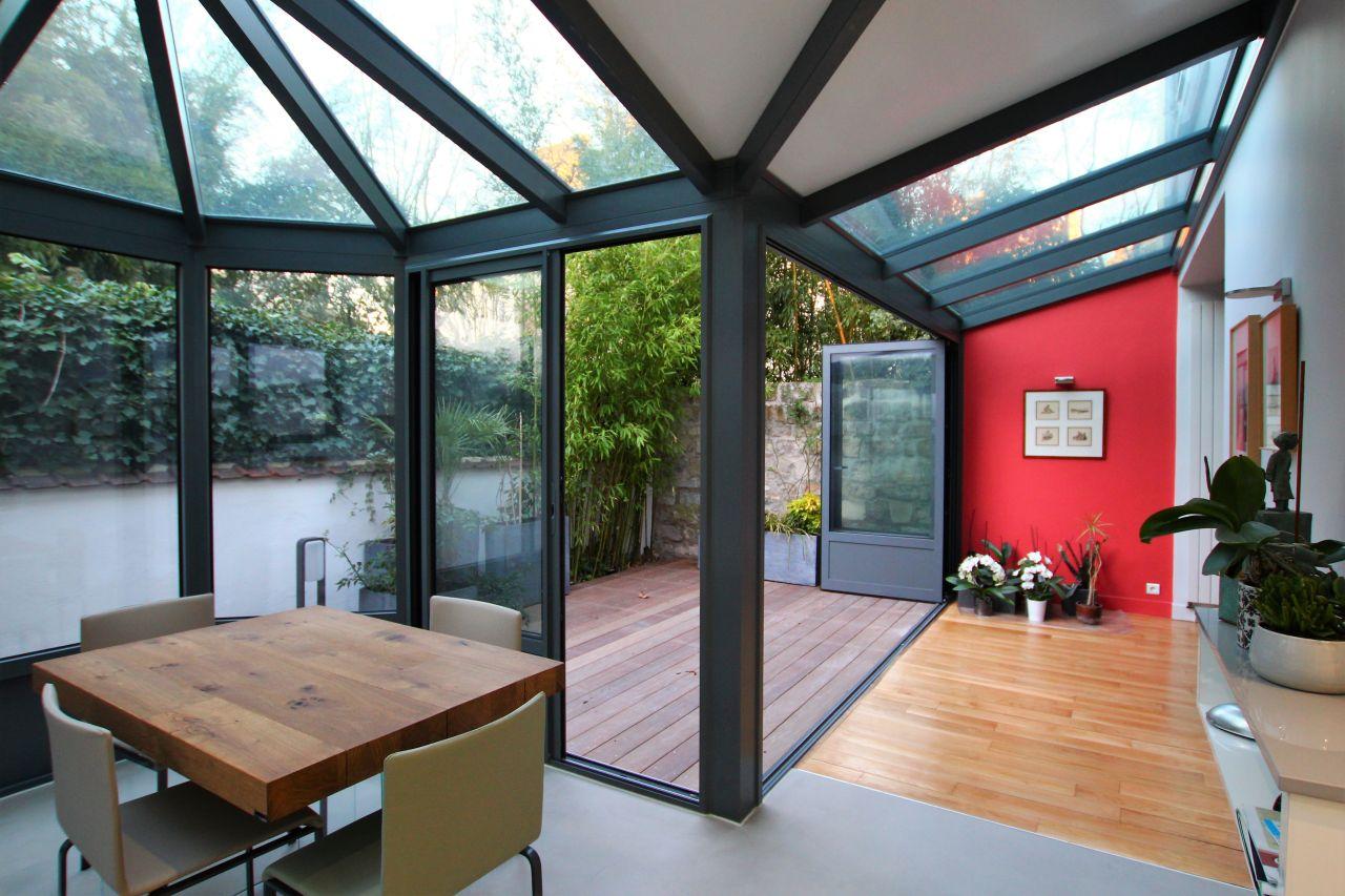 Extension D Une Maison Des Annees 30 Tipikasa